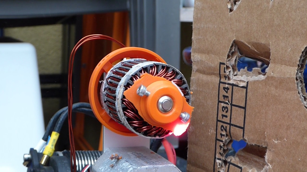 3D-Printed Halbach Motor Part Two: Tuning, Testing | Hackaday