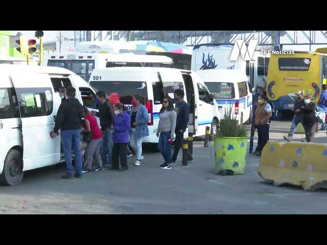 Transporte público no respeta la parada autorizada en Bulevar San Felipe