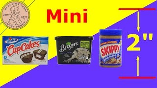 Mini Shopping Brands Miniature Food - Super Rare Gold!