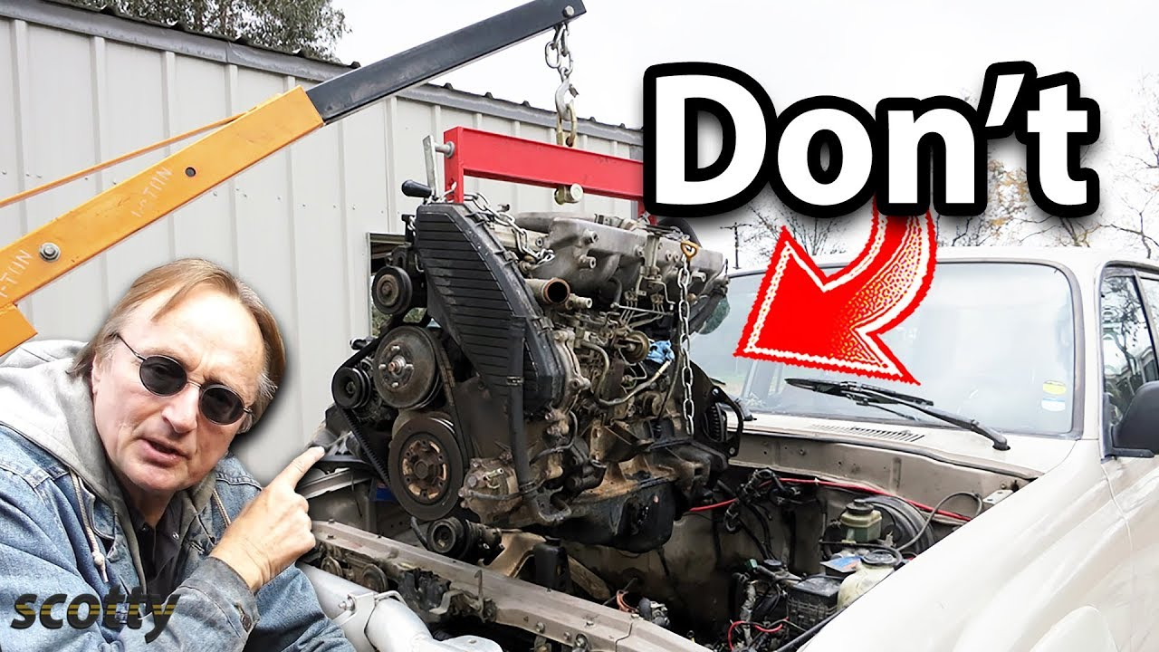 Never Rebuild Your Car's Engine, Unless
