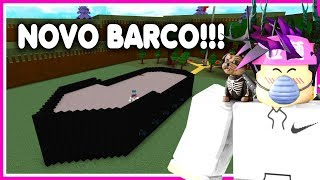ROBLOX-NEW UPDATE and NEW MEGA BARCO ⟪ Build A Boat For Treasure ⟫