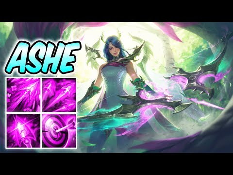 FAE DRAGON ASHE NEW AMAZING SKIN | Best Build & Runes | Ashe ADC Gameplay | League of Legends