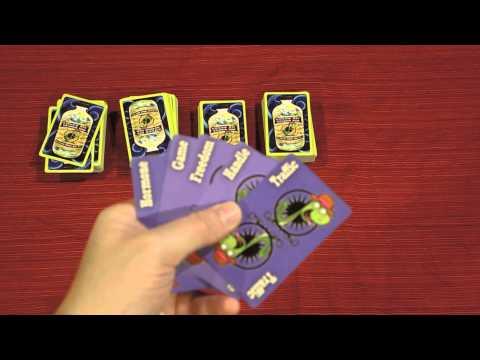 SNAKE OIL Card Game Quick Walkthrough W/ Doron