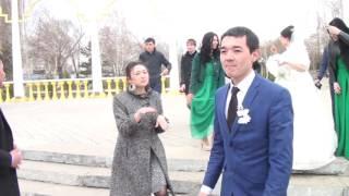 г Кокшетау  Багдат & Асель 25. 04 .2015 Свадебный Клип