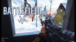 Battlefield 5 Alpha - British Assault kit - Narvik Conquest -  4K