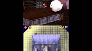 Let's Play Super Mario 64 DS Big Boo's Balcony