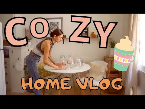 what-i-ate-+-did-this-weekend-🌱-vegan-recipes,-decorating,-and-organzing-☀️🍦