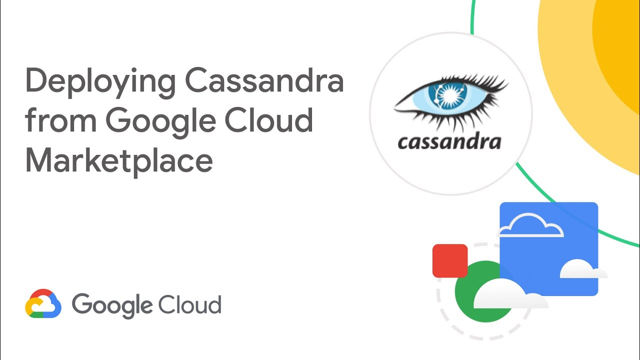 Deploying Cassandra from Google Cloud Marketplace