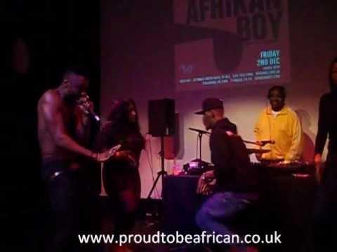 Afrikan Boy performing Kunta Kinte