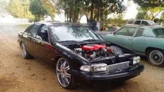 1995 chevy impala ss ls3 with lsa supercharger 376ss