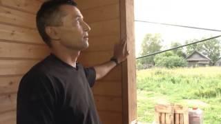 Установка окон в деревянном доме .МОГУТА(, 2014-09-14T06:34:08.000Z)
