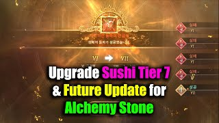 Black Desert Mobile Upgrade Sushi Tier 7 & Future Update for Alchemy Stone