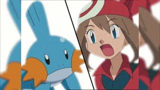 Mudkip Use Water Gun  Pokémon Advanced