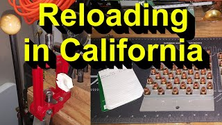 Gambar cover Reloading and how to avoid the California Ammo Restrictions