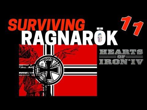 Hearts of Iron 4 - Challenge Survive Ragnarok! - Germany VS World  - Part 11