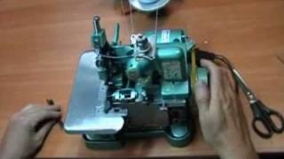 видео Краеобметочная Швейная Машина - инструкция, характеристика, ремонт, запчасти
