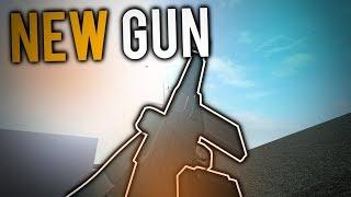 THE NEW GUN on PHANTOM FORCES... (roblox)