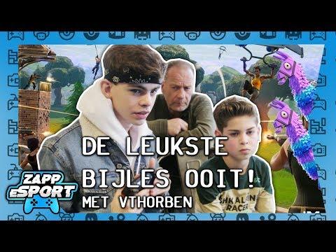 FORTNITE OP SCHOOL! VTHORBEN GEEFT LES   ZappEsport: HELLUP FORTNITE