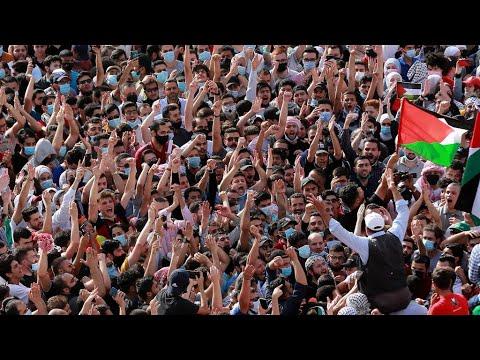 مظاهرات في عدة دول عربية ضد القصف الإسرئيلي لغزة ودعما للفلسطينيين  - نشر قبل 1 ساعة