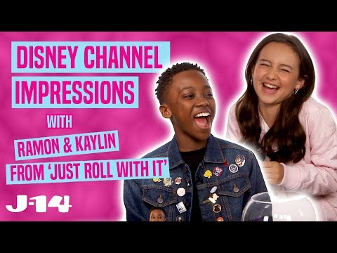 Just Roll With It Stars Kaylin & Ramon Do Disney Channel Impressions