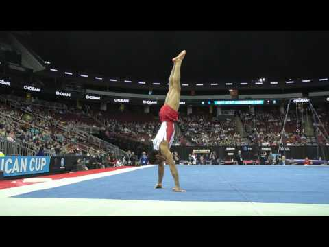 Akash Modi (USA) - Floor Exercise - 2017 AT&T American Cup