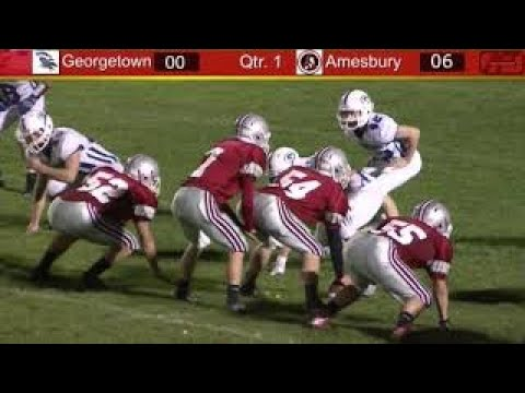 Amesbury High School 2014 Football High Lights
