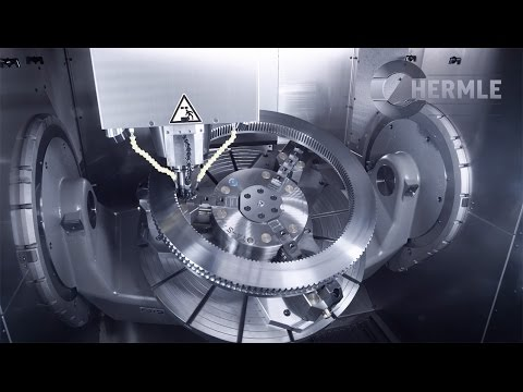 Hermle C 52 U MT (Mill/Turn) Wälzschälen / skiving