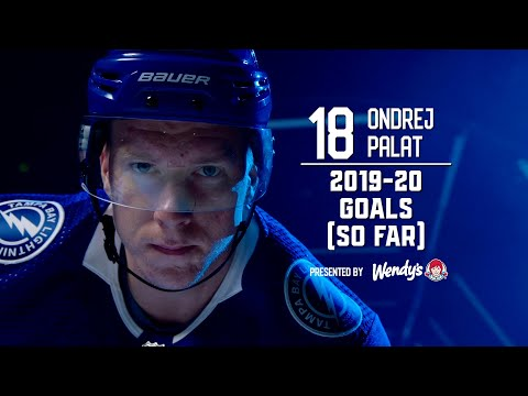 2019-20 Goals (So Far) : Ondrej Palat