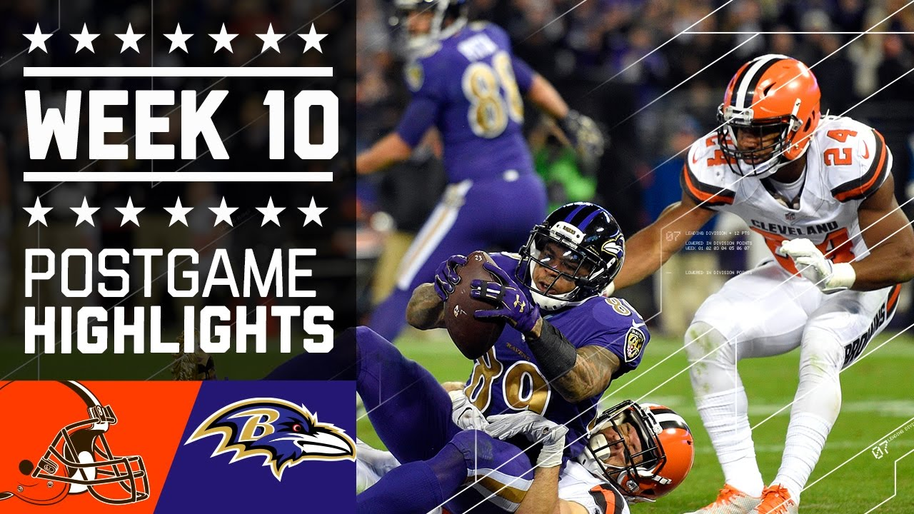 4d4b0b20 Browns vs. Ravens | NFL Week 10 Game Highlights - YouTube