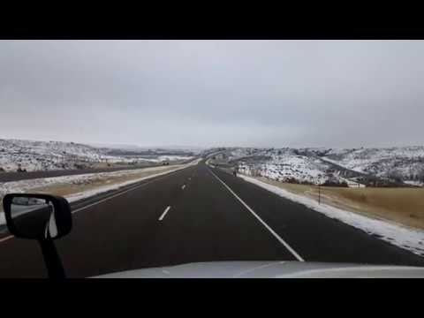 BigRigTravels LIVE! Miles City to Fallon, Montana Interstate 94 East-Nov. 3, 2017