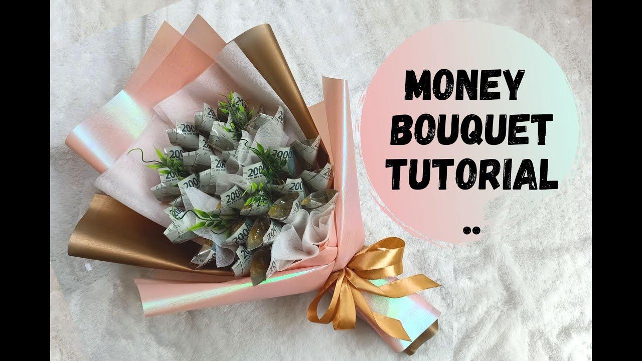 Diy Mony Bouquet Ii Youtube