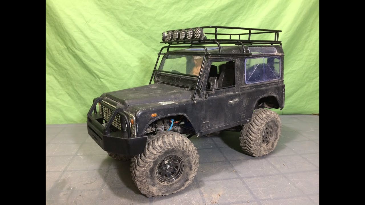Installing A Arb Bumper On My Rc4wd Gel 228 Nde Ii Defender