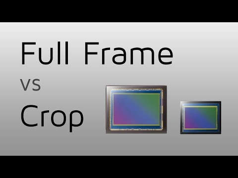 Full Frame vs crop - What's the difference?