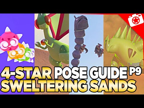 Sweltering Sands 4-Star Pose & Request Guide   New Pokemon Snap