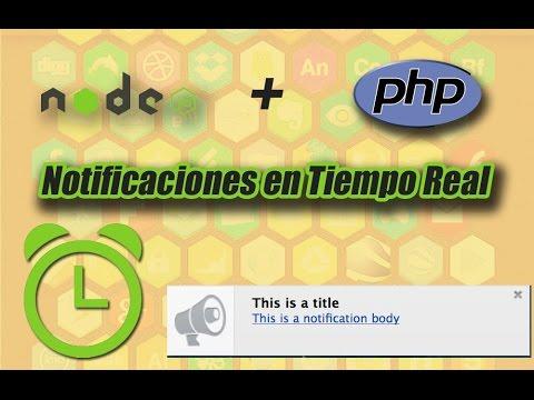 Notificaciones Con PHP Y NODEJS