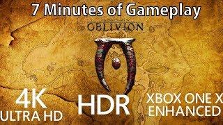 [4K] Elder Scrolls IV: Oblivion gameplay running on Xbox One X
