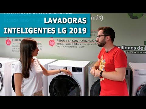 LAVADORAS INTELIGENTES LG 2019