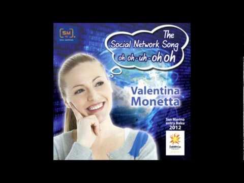 ESC Karaoke 2012 - San Marino - Valentina Monetta - The Social Network Song (OH OH -- Uh - OH OH)