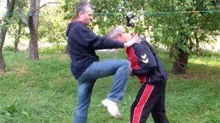 Удар коленом: самооборона