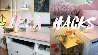 IKEA HACKS AND DIYs 2018 | 4 EASY & CHEAP DIY HACKS | HOME DECOR