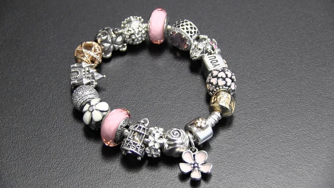 pandora bracelet pink youtube. Black Bedroom Furniture Sets. Home Design Ideas
