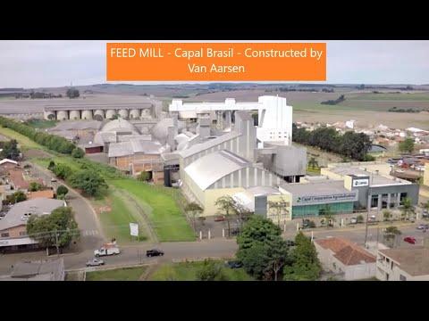 Feed mill Capal Brasil Constructed by Van Aarsen