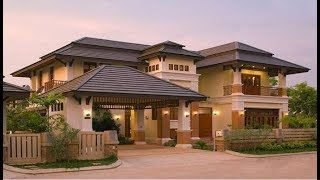 Cute Modern Double Floor House 1300 Sft  for 13 Lakh | Elevation | Design | Mak Home
