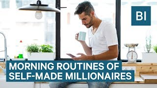 The One Thing Most Self-Made Millionaires Do When They First Wake Up