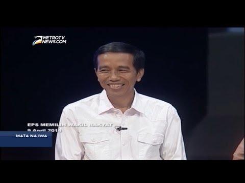 Mata Najwa: Rekam Jejak Jokowi di Mata Najwa