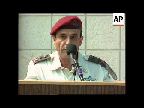 Israel - Mofaz accepts post of Army Chief