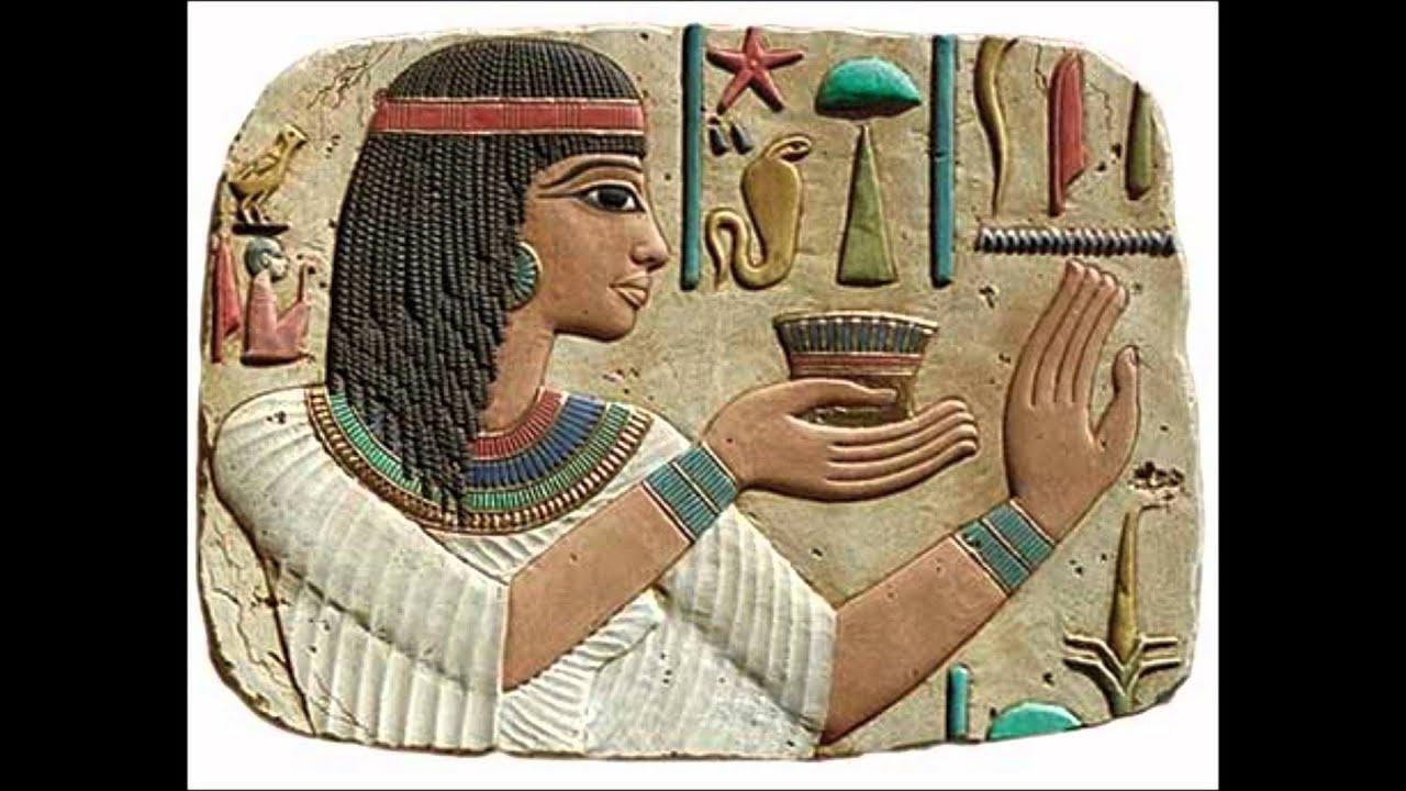 Ramses ii nefertari youtube for Ancient egyptian mural paintings