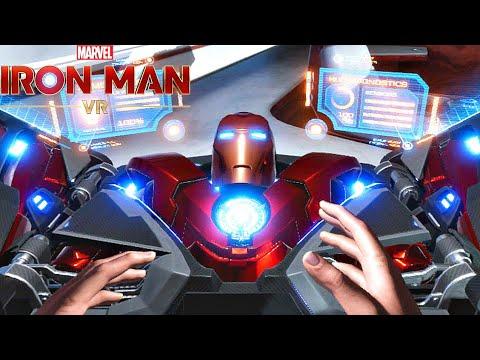 Iron Man VR - Demo Gameplay (2020)