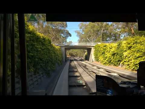 Adelaide O-Bahn Tunnel: City to Klemzig