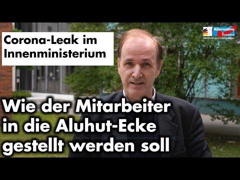 """Corona-Leak und das Totschlagargument """"Verschwörungstheorie""""   Dr. Gottfried Curio"""